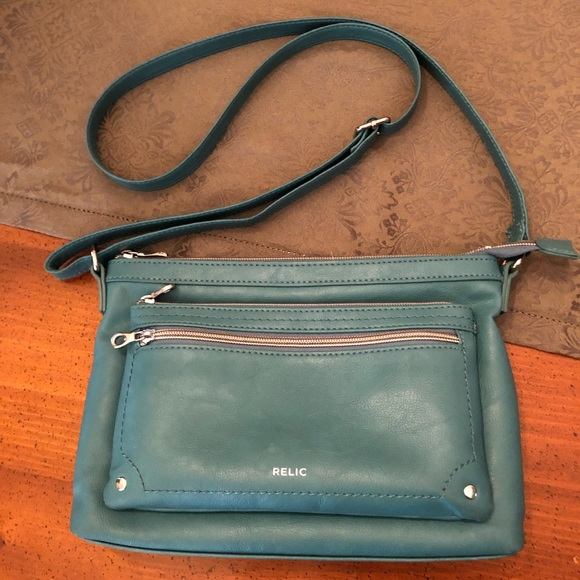 f45d776c5cb0 Relic Bags | By Fossil Evie Crossbody Bag In Alpine Green | Poshmark